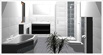 Ein schönes Badezimmer ist die persönliche Wohlfühloase in den eigenen vier Wänden. Daher Planen wir Ihr Bad vorab mit unserer 3D-Badplanung, so können wir Ihr Bad individuell und einzigartig nach Ihren Wünschen planen und gestalten.